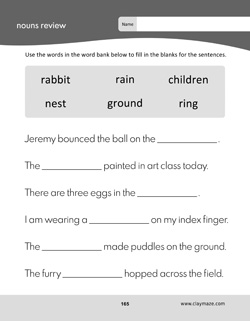 Science Words Practice Workbook Page: Gills