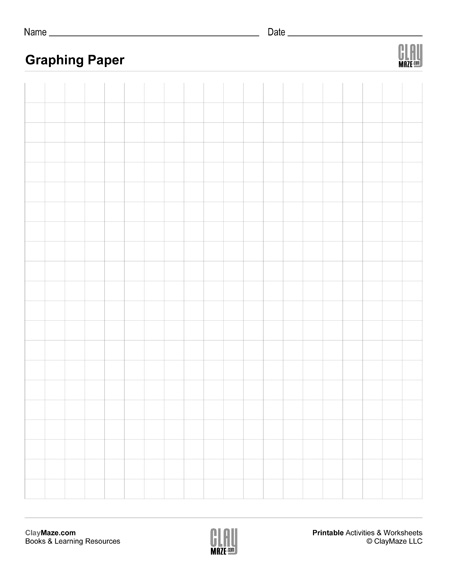 blank graphing paper medium